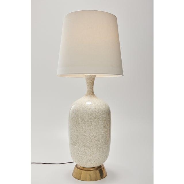 Mid-Century Oversize Ceramic Table Lamp - Image 2 of 5