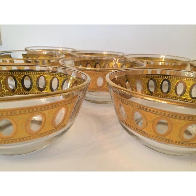 Culver Antigua 22k Gold Dessert Bowls - Set of 8 - Image 8 of 9