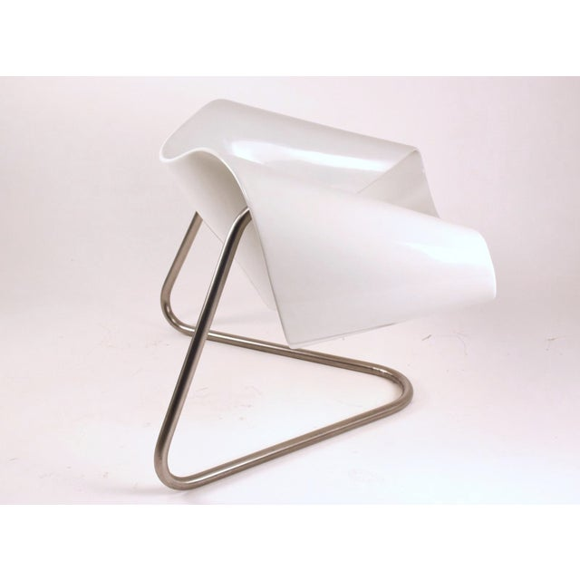 Mid-Century Modern 1960s Vintage Cesare Leonardi/Franca Stagi Ribbon Chair For Sale - Image 3 of 9