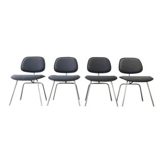1980s Vintage Herman Miller Dcm Chairs- Set of 4 For Sale