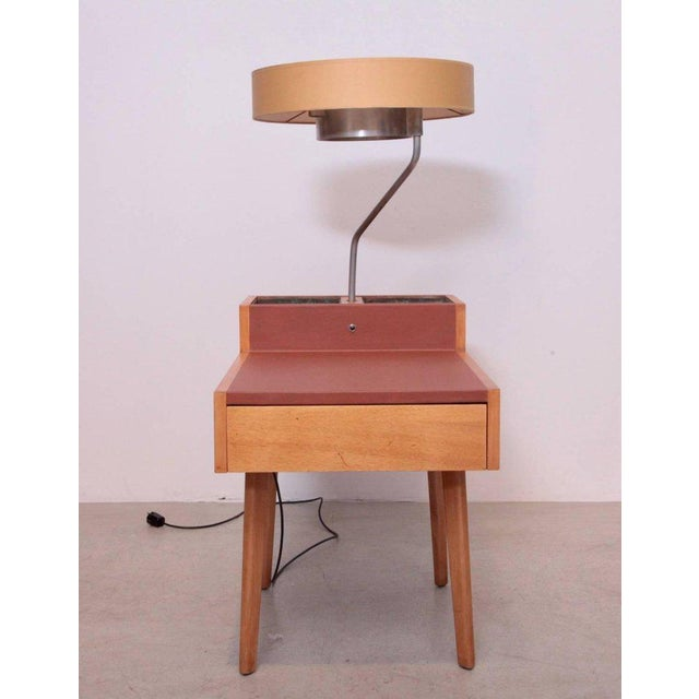 Mid-Century Modern George Nelson Planter and Lamp Table, Model 4634-L for Herman Miller For Sale - Image 3 of 10