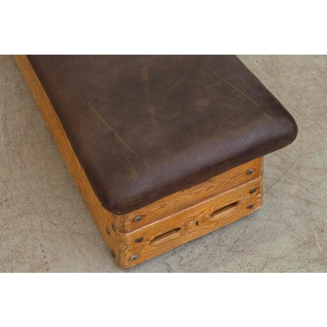 Vintage Dutch Gym Bench - Image 7 of 10