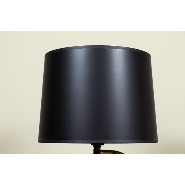 Hollywood Regency Mid-Century Globe Lamp For Sale - Image 3 of 6