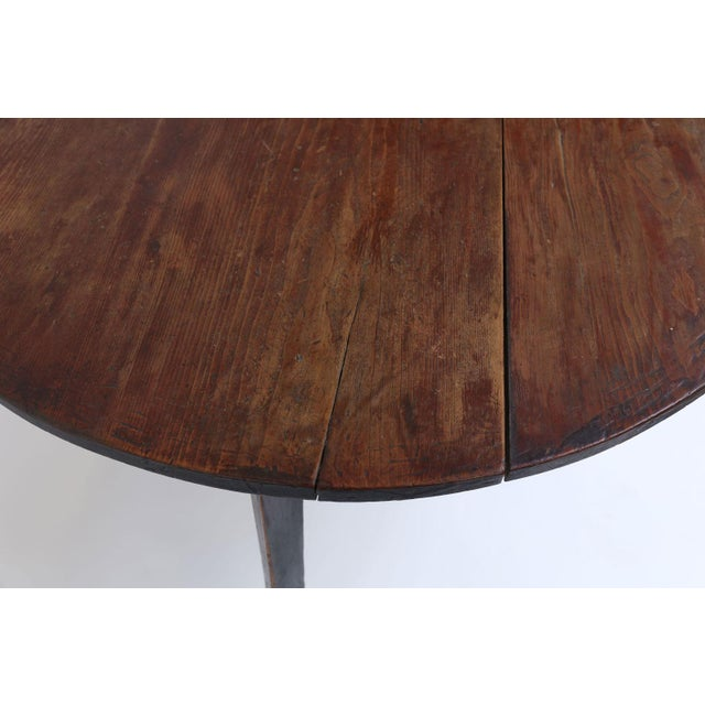 Large Pine Cricket Table For Sale - Image 11 of 13
