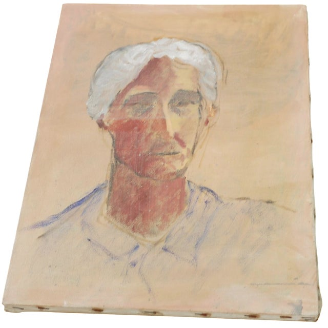Ghosted Grandma Oil Portrait - Image 1 of 4