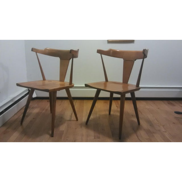 Paul McCobb Mid Century Modern Dining Chairs - a Pair - Image 2 of 9