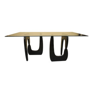 1970s Noguchi Style Dining Table For Sale
