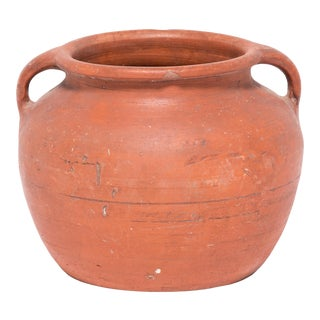 Early 20th Century Chinese Terracotta Soup Pot For Sale