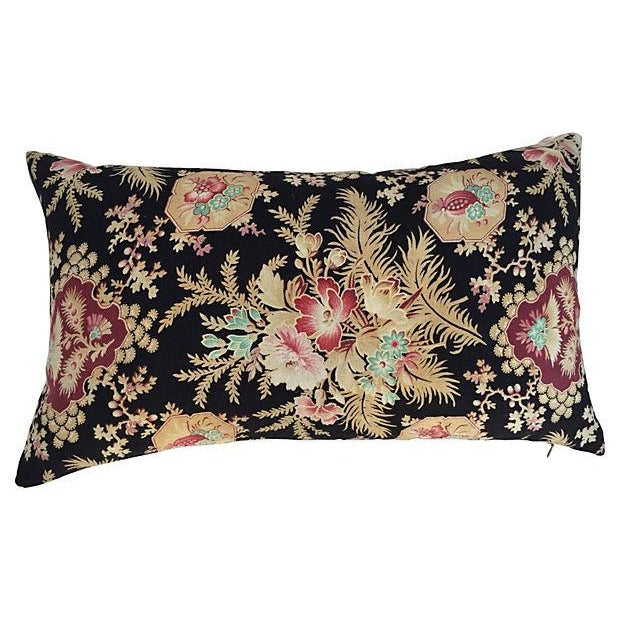 French Victorian Floral Pillows - A Pair - Image 3 of 6