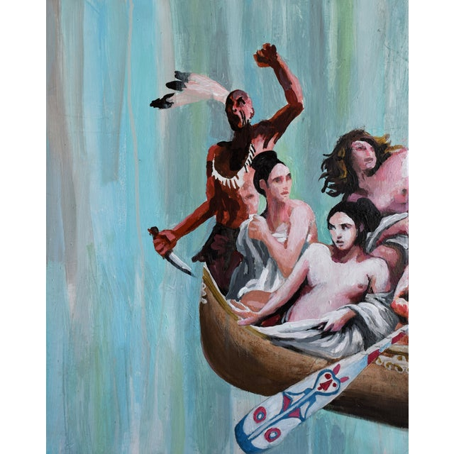 Oil Study for Myth of the Nubile Captives (Aka: Hey, That's Not Art!) - Image 6 of 8