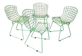 Image of Harry Bertoia Dining Chairs
