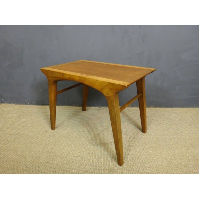Drexel Profile Walnut Side Tables - A Pair - Image 4 of 6
