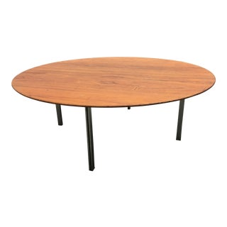 Florence Knoll Parallel Bar Teak Cocktail Table