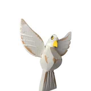 Primitive Hand Carved Holy Spirit /Dove