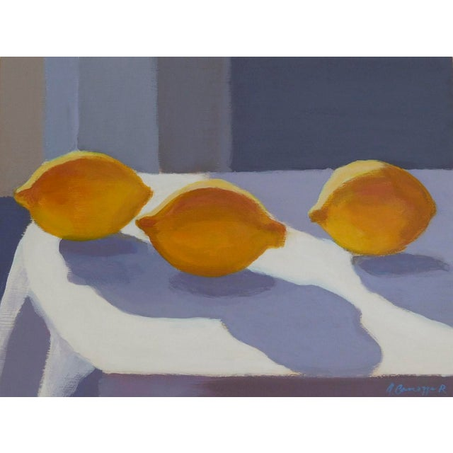 2010s Lemon Light by Anne Carrozza Remick For Sale - Image 5 of 5
