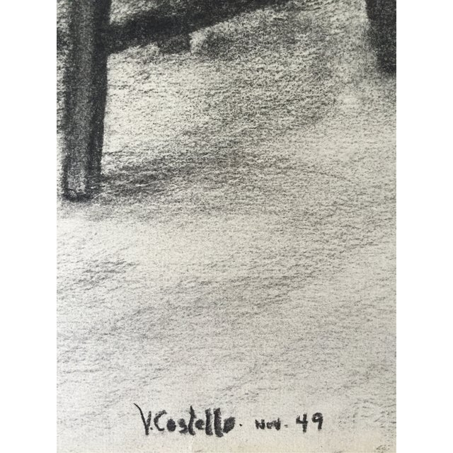 1949 Drawing Ballerina by Costello For Sale - Image 4 of 5