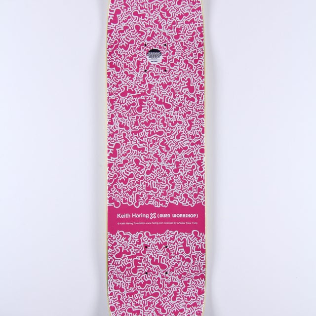 Contemporary Limited Edition Keith Haring Skate Deck 2012 For Sale - Image 3 of 3