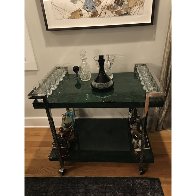 2010s Maddox Maln Bar Cart For Sale - Image 5 of 13