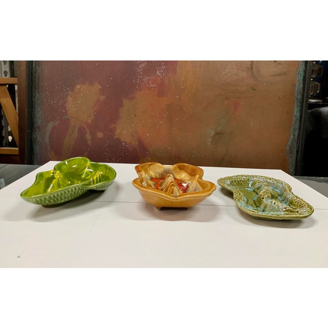 Mid-Century California Pottery Ashtrays - Set of 3 For Sale In Miami - Image 6 of 10