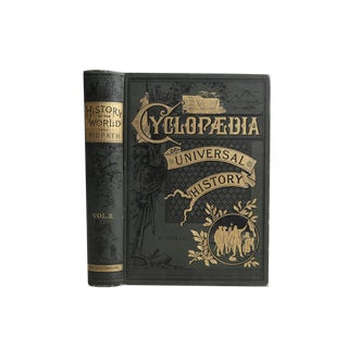 """""""Cyclopaedia of Universal History"""", 1885 For Sale"""