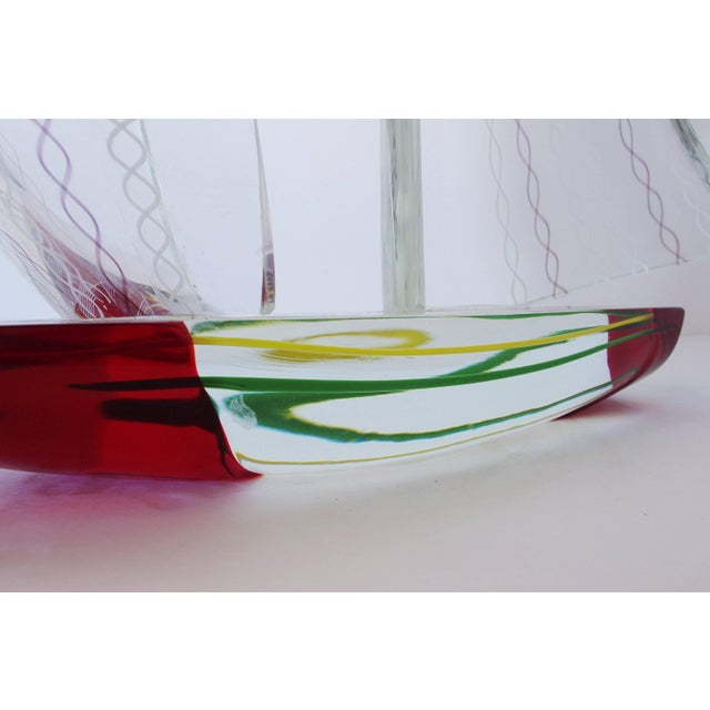 Sailboat Sculpture by Alberto Dona' For Sale - Image 9 of 10