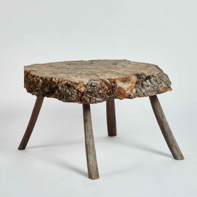 Early 20th Century Early 20th C. Wooden Trunk Table For Sale - Image 5 of 5