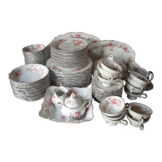 1980s Vintage Edelstein Bavarian China Set of 89 For Sale