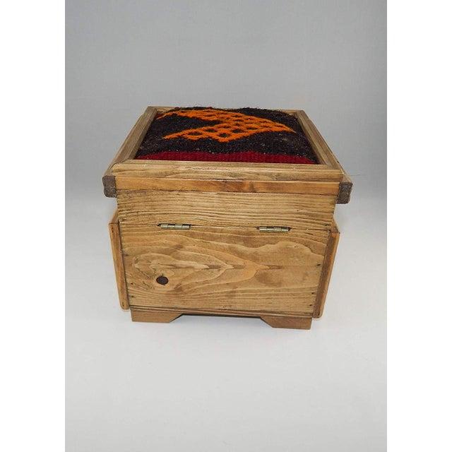 8daa0c35b Islamic Vintage Kilim Chest, Handmade Wooden Unique Box, Gifts For Women,  Jewellery Box