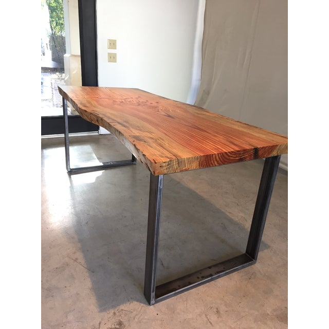 Ojai Stone Pine Live Edge Dining Table - Image 2 of 6