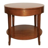 Image of Barbara Barry Skirted Accent or End Table For Sale