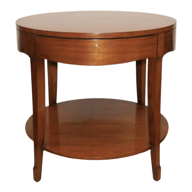 Barbara Barry Skirted Accent or End Table For Sale
