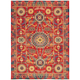 "Pakistani Hand-Knotted Rug-8'4"" X 11'3"" For Sale"