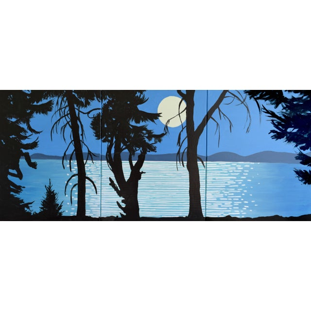 Moon River Triptych - Image 1 of 9