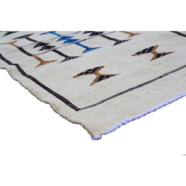 Moroccan Berber Silk Rug - 3'3'' X 1'9'' - Image 2 of 4