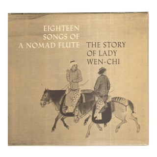 "1974 ""The Story of Lady Wen-Chi: Eighteen Songs of a Nomad Flute"" Coffee Table Book For Sale"