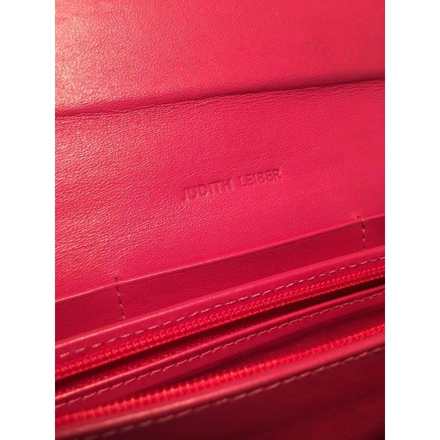 Judith Leiber Black Lizard Wallet Wristlet Clutch For Sale - Image 9 of 10
