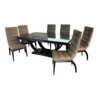 Century Deco Contemporary Dining Set For Sale