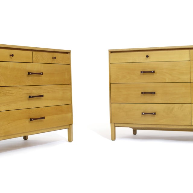 1960s Perimeter Group by Paul McCobb Mid-Century Dressers - a Pair For Sale - Image 5 of 9