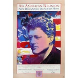 Image of Peter Max, Bill Clinton Inaugural, an American Reunion II Poster For Sale