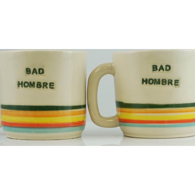 Bad Hombre Mugs - A Pair - Image 4 of 7