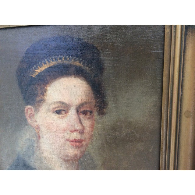 Portrait of a Lady Wearing a Tiara - Image 5 of 9