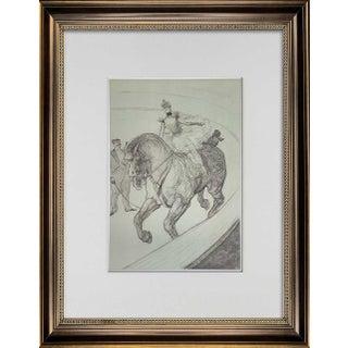 Vintage Henri De Toulouse-Lautrec Limited Edition Lithograph No. 167 For Sale