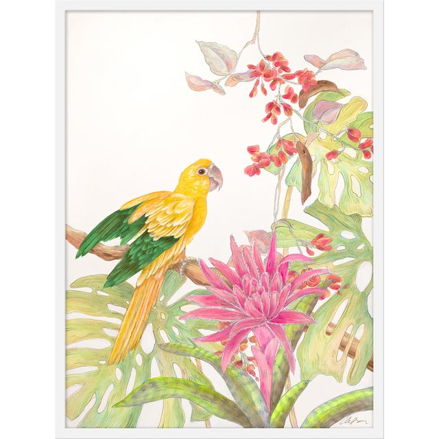 """Contemporary Medium """"My Favorite Perch"""" Print by Allison Cosmos, 27"""" X 36"""" For Sale - Image 3 of 3"""