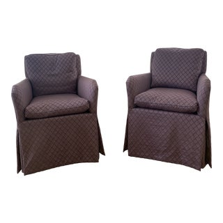 Hickory Chair Arm Chairs - a Pair For Sale
