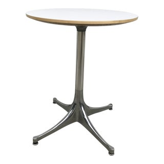 George Nelson for Herman Miller Pedestal Side Table For Sale