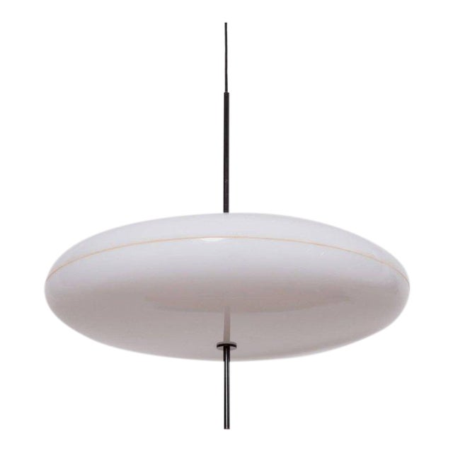Gino Sarfatti Ceiling Light, Model No. 2065 GF for Arteluce For Sale