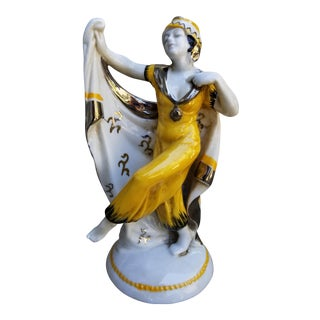 Art Deco Dancer Figurine For Sale