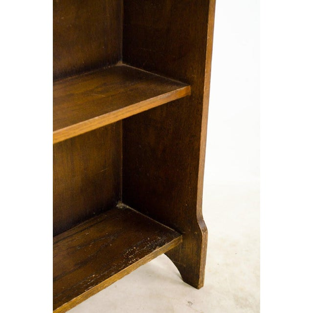 19th Century English Traditional Stand-Up Desk Bookshelf For Sale - Image 9 of 13