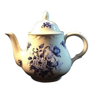 1910's Antique Arthur Wood Kew White Porcelain Teapot For Sale