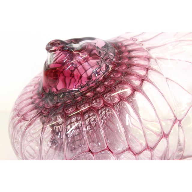 Late 20th Century Jorg Zimmermann German Studio Art Glass Sculpture For Sale - Image 5 of 12